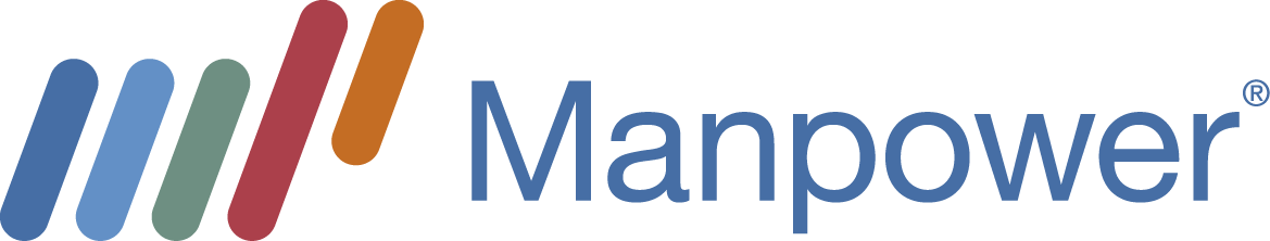 Manpower Web Horizontal Logo for Light Background